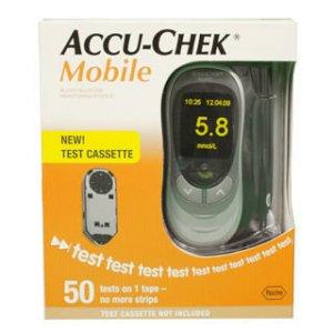 Accu Chek Mobile Blood Glucose Meter