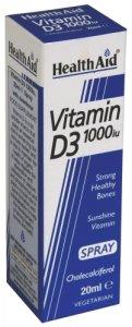 HealthAid Vitamin D3 1000iu Spray 20ml