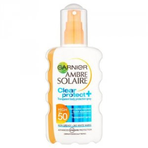 Garnier Ambre Solaire Clear Protect Sun Spray SPF50 200ml