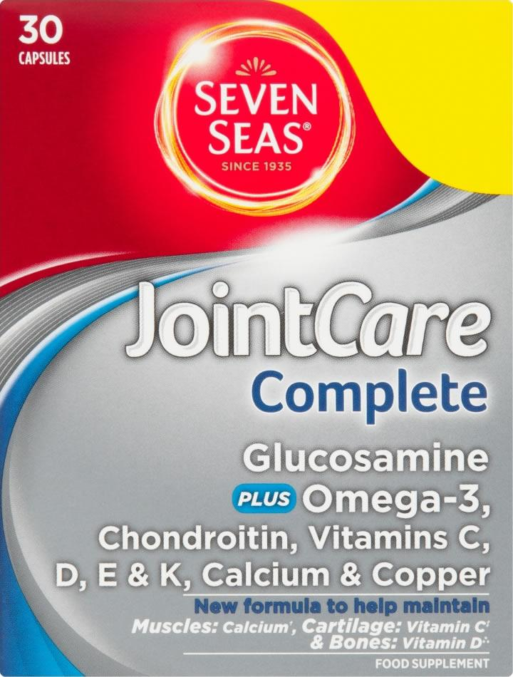 Seven Seas Jointcare Complete Capsules Pack of 30