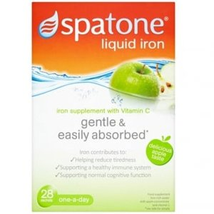 Spatone Apple Liquid Supplement with Vitamin C Sachets Pack of 28