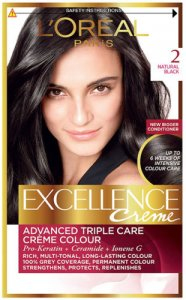 L'Oreal Excellence Creme Natural Black 2