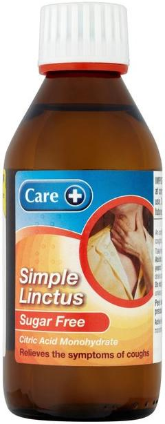Care Simple Linctus Sugar-free  200ml