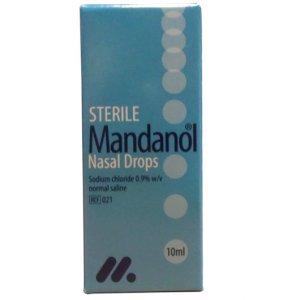Mandanol Sterile Nasal Drops 10ml
