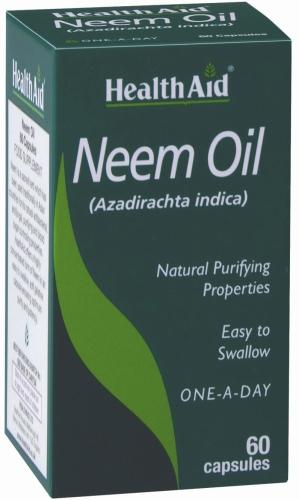 HealthAid Neem Oil Capsules Pack of 60