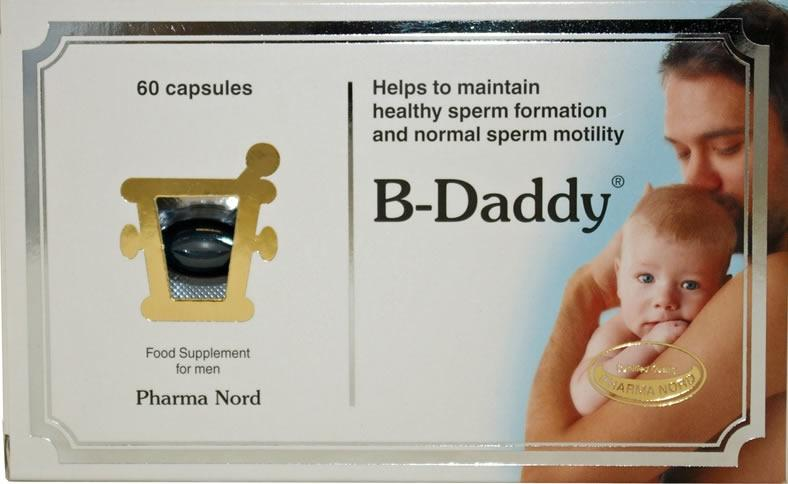 Pharma Nord B Daddy Male Fertility Capsules Pack of 60