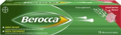 Berocca Effervescent Mixed Berries Pack of 15