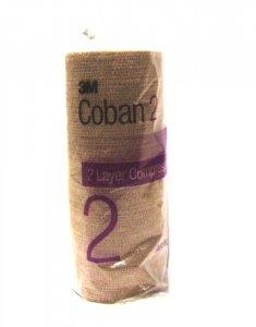 3M Coban 2 Layer Compression System Bandage 15cm x 4.5m