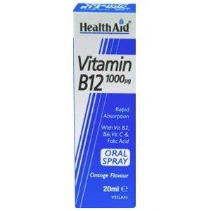 HealthAid Vitamin B12 1000mcg Oral Spray 20ml