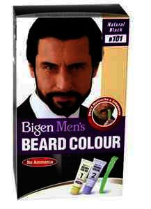 Men\'s Beard Colour Cream Natural Black B101
