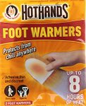 Hothands Foot Warmers Pack of 2