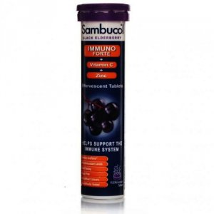 Sambucol Black Elderberry Effervescent 15 Tablets