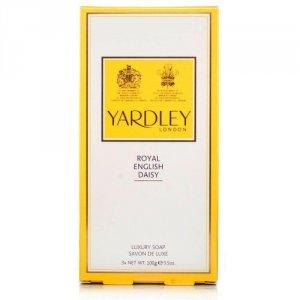 Yardley Royal English Daisy Soaps 100g Pack of 3