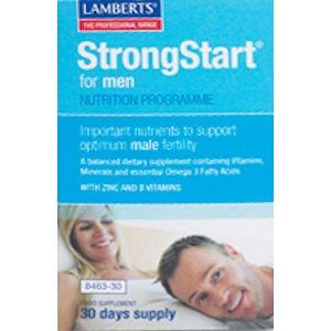 Lamberts StrongStart for Men Pack of 60 (30 Day Supply)