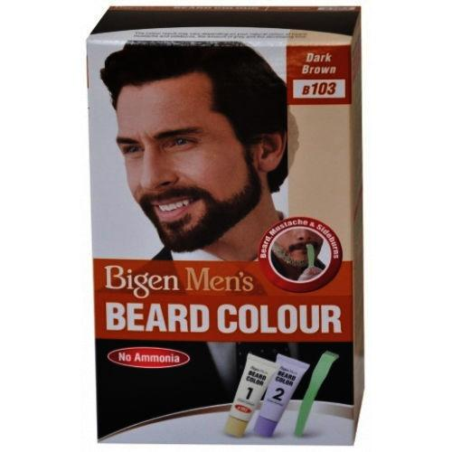 Bigen Men's Beard Colour Cream Dark Brown B103