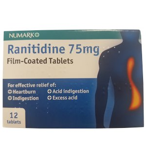 Ranitidine Indigestion Relief Tablets Pack of 12