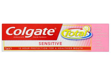 Colgate Total Sensitive Toothpaste 75ml