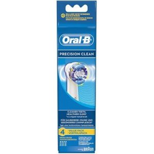 Oral B Precision Clean Brush Heads Pack of 4