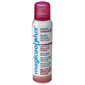 Magicool Plus Treats Sunburn Spray 150ml