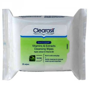 Clearasil Daily Clear Vitamins & Extracts Wipes