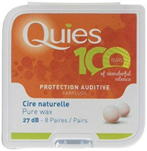 Quies Wax Ear Plugs Pack of 8