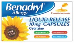 Benadryl Allergy Liquid Release 10mg Pack of 7
