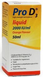 Pro D3 Liquid 2000 IU/ml 50ml