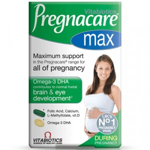 Pregnacare Max Tablets plus Omega 3 Capsules Pack of 84