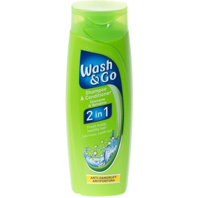 Wash & Go 2 In 1 Anti Dandruff 200ml
