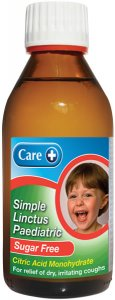 Care Simple Paediatric Linctus Sugar Free 200ml