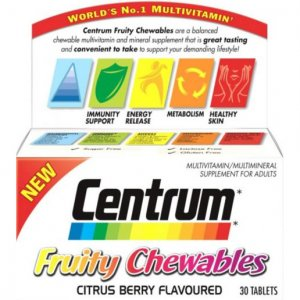 Centrum Fruity Chewables Pack of 30