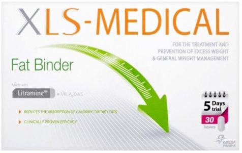 XLS Medical Fat Binder Tablets Pack of 30