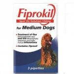 Bob Martin Fiprokil Spot On Medium Dogs Pack Of 3 Pipette 134mg