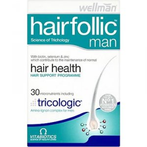Wellman Hairfollic Tablets Pack of 30