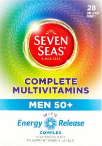 Seven Seas Complete Multivitamins Men 50 Plus Pack of 28