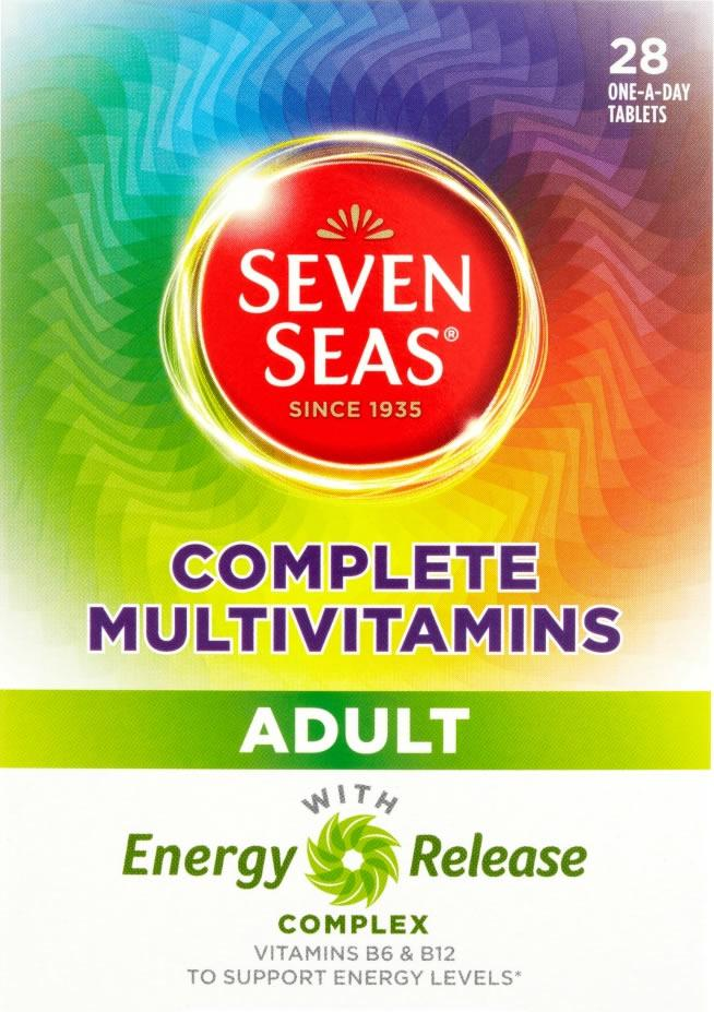 Seven Seas Complete Multivitamins Adult Pack of 28