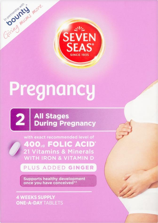 Seven Seas Pregnancy Pack of 28