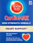 Seven Seas Cardiomax High Strength Capsules Pack of 30