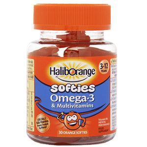 Haliborange Kids Multivitamin & Omega 3 Softies Pack of 30 x 3