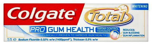 Colgate Total Pro Gum Health Whitening Toothpaste 75ml
