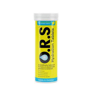 O.R.S Lemon Tablets Pack of 12