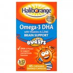 Haliborange Kids Omega 3 Chewable Pack of 45