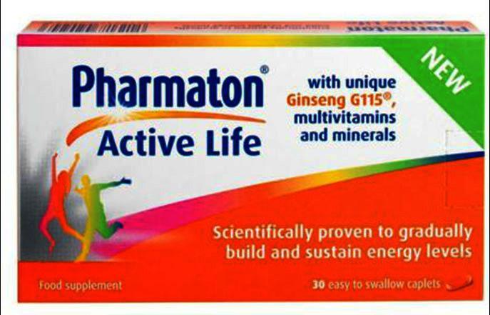 Pharmaton Active Life Caplets Pack of 30