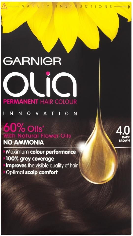 Garnier Olia Dark Brown 4.0