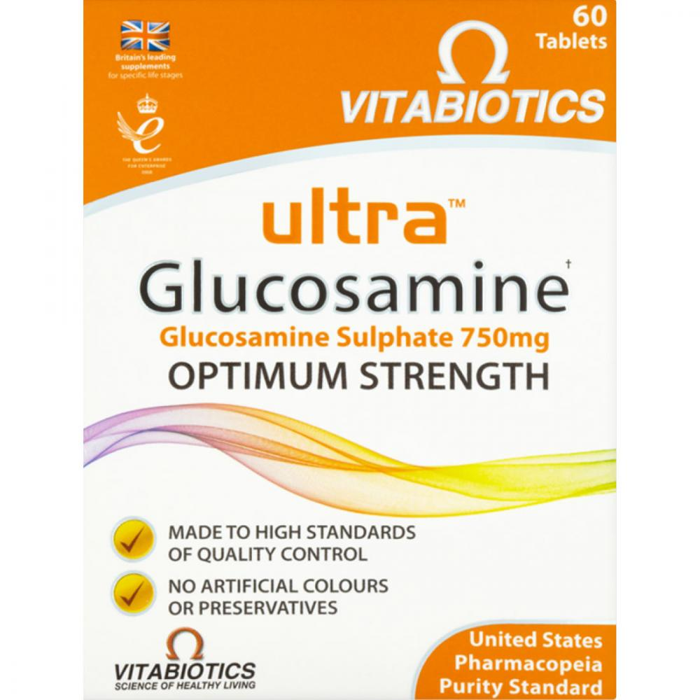 Ultra Glucosamine 750mg Tablets Pack of 60