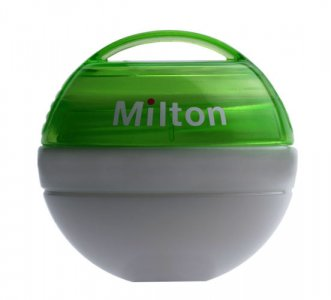 Milton Portable Soother Steriliser - Green