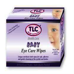 TLC Baby Eye Care Wipes Pack of 20