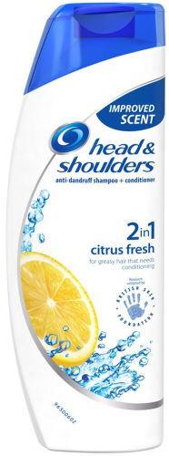 Head & Shoulders Citrus Fresh 2 in 1 Shampoo & Conditioner 250ml
