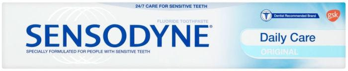 Sensodyne Daily Care Fluoride Toothpaste 75ml