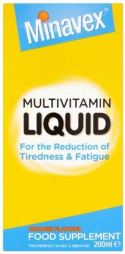 Minavex Multivitamin Liquid 200ml